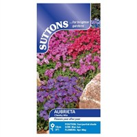 Suttons Aubrieta Seeds - Cheeky Mix (104799)