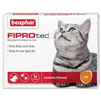 Beaphar FIPROtec® Spot-On Solution for Cats 50mg x 6 (14367)