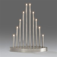 Konstsmide Metal Candlebridge Lights with 10 Candles (2401-900TE)