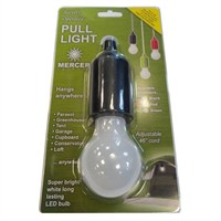 Mercer Black Pull Light White LED 1W (MLO-680)