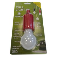 Mercer Red Pull Light White LED 1W (MLO-682)