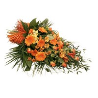 Orange Tied Sheaf 3ft