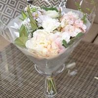 Artificial Bouquet - Soft Pastels 15 Stems