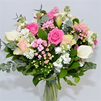 Baby Girl Bouvardia Hand Tied Bouquet