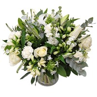 Baby Boy Scented Hand Tied Bouquet