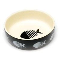 Petface Catkins Ceramic Bowl Big Fish (46012)