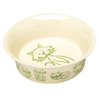 Petface Catkins Ceramic Bowl Cats (46014)