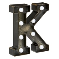 Lumieres Light Up Letters - K (3180321)