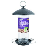 Gardman Black Steel Suet Treat and Mealworm Feeder (A01526)