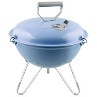 Charles Bentley 14inch Kettle Charcoal BBQ Grill - Purple (BBQKT14PU) DIRECT DISPATCH