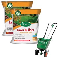 Promotion! Buy 2 Scotts Lawnbuilder Autumn 400m2 and Get The Scotts Rotary Spreader Half Price!