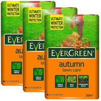 Promotion! Buy 3 EverGreen Autumn 2 in 1 360m2 Lawn Food Bag for Only £50!
