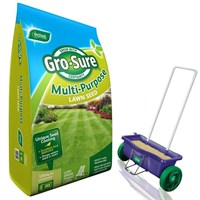 Promotion! Buy Gro Sure Multi Purpose Lawn Seed 120m2 & Get Lawn Drop Spreader Half Price!
