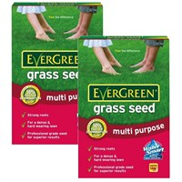 Promotion! Buy One Get One Free EverGreen Multi Purpose Grass Seed 14m2 + 15%!