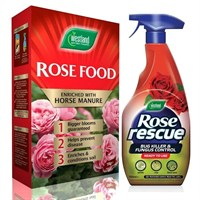 Promotion! Westland Rose Food 3kg with FREE Rose Rescue 750ml!