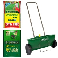Promotion! Buy an Complete 360m2 and an Extreme Green 400m2 and Get the Easy Spreader Half Price!