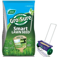 Promotion! Buy Gro Sure Smart Seed 80m2 & Get Lawn Drop Spreader Half Price!