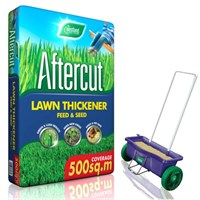 Promotion! Buy a Bag of Aftercut Lawn Thickener Bag 500sqm and Get The Lawn Drop Spreader Half Price!