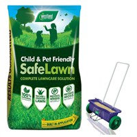 Promotion! Buy Westland Safe Lawn 400m2 & Get Lawn Drop Spreader Half Price!