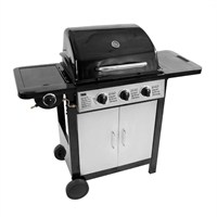 Charles Bentley 4 Burner Black Gas BBQ (BBQ.03) DIRECT DISPATCH