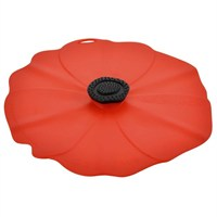 Charles Viancin Red Poppy Lid - Large 28cm (2901)