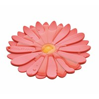 Charles Viancin Pink Daisy Coasters 12cm (4099)