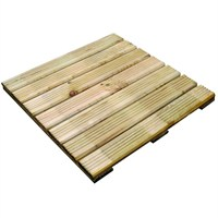 Zest 4 Leisure Decking Tiles (4 Pack) (DIRECT DISPATCH)