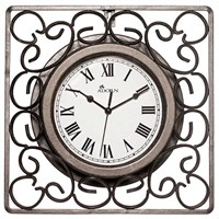 Garden Nation Kingsbury Scroll Clock (EDN0813)