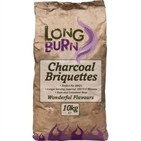 Green Olive Long Burn Charcoal Briquettes 10kg (FBRPP10)