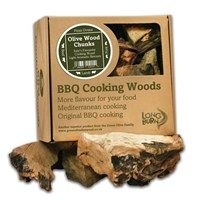 Green Olive Cooking Wood Chunks 5kg - Olive (FOWCBTB2.5)