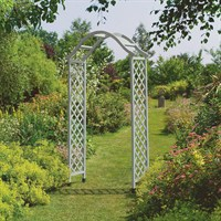 Gardman Elegance Wooden Arch - Sea Breeze (07717)