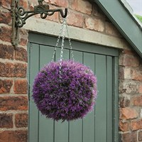 Gardman 30cm Topiary Ball Pink Heather Effect (02818)