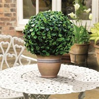 Gardman 15cm Topiary Ball Leaf Effect (02819)
