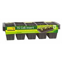 Gardman 15 Cell Insert (5 pack) (08528)