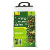 Gardman Hanging Strawberry Planter - Twin Pack (09128)
