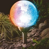 Cole & Bright Solar Low Level Ice Orb Light (18028)