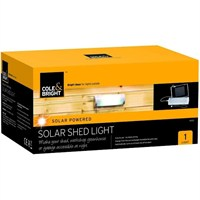 Cole & Bright Solar Shed Light (18120)