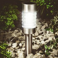Cole & Bright Solar Marker Light - Stainless Steel (18363)