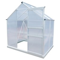 Charles Bentley Garden 6ft x 4ft Polycarbonate Greenhouse (GL/GH.04) DIRECT DISPATCH