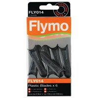 Flymo Plastic Blades - Pack of 6 (FLY014)