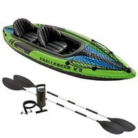 Intex Challenger K2 Inflatable Kayak with Pump & Paddles (68306NP)