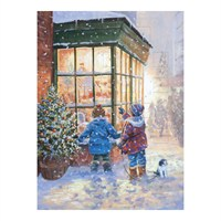 Otter House - Winter Scene Advent Calendar (22060)