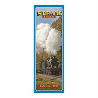 Otter House - Steam Railway Slim Calendar 2017 (26792)