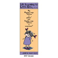 Otter House - Little Else Slim Calendar 2017 (27220)