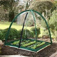 Popadome All-in-One Fruit and Vegetable Net Protection System 4 x 4ft