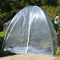 Popadome Cloche Cover for All-in-One Fruit and Vegetable Net Protection System 2 x 2m