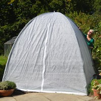 Popadome Fleece Cover for All-in-One Fruit and Vegetable Net Protection System 2 x 2m