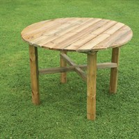 Zest 4 Leisure Abbey Round Table (DIRECT DISPATCH)