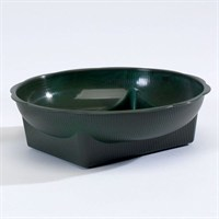 Oasis® Square Round Bowl - Green (4015)