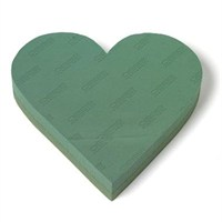 Oasis® Foam Frames® Solid Heart - 38cm 2 Pack (8223)